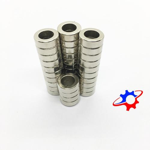 Nam châm tròn D15-9x5mm mạ Nikel