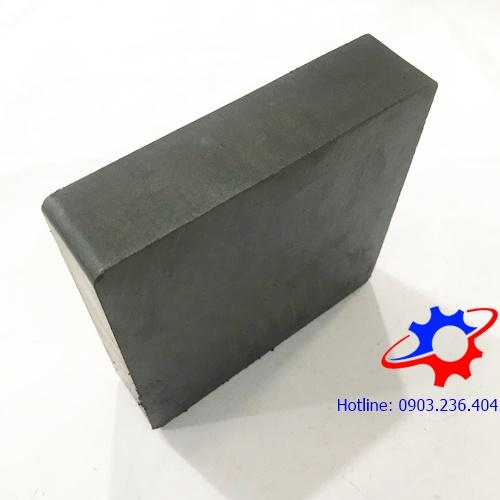 Nam châm ferrite hình hộp chữ nhật 100x100x25mm