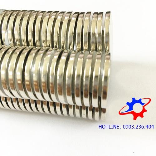 Nam châm viên tròn 20x2mm mạ Nikel